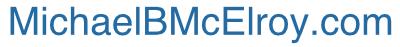 MichaelBMcElroy.com